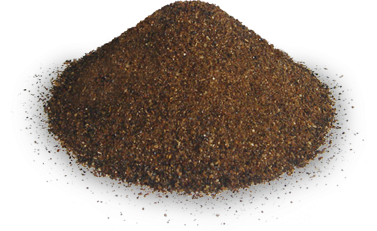 Roasted rye malt