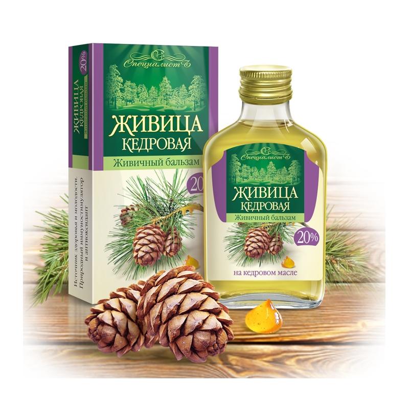 Кедровое масло с живицей кедра применение